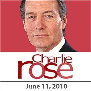 Charlie Rose: René Redzepi and an Appreciation of John Wooden, June 11, 2010 Radio/TV Program