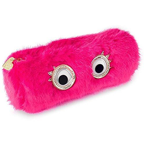 Betsey Johnson xox Trolls Googly Eyes Pencil Case, Pink