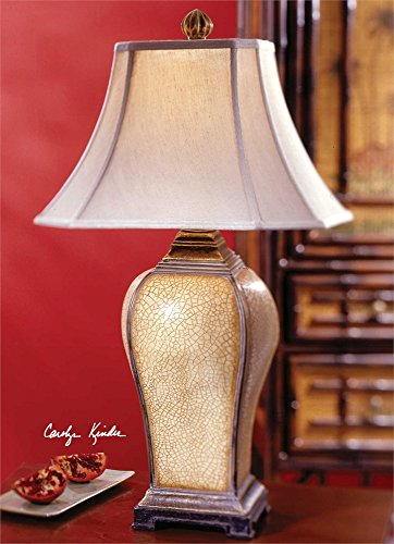 Ivory Table Lamp The Baron Collection Table Lamps Baron Square Table Lamp