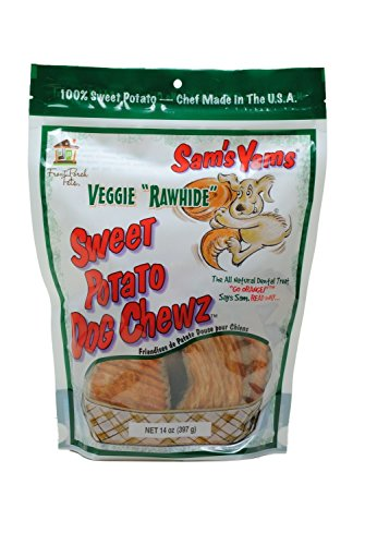 Sam's Yams Veggie Rawhide Sweet Potato Dog Treats, 14-ounce