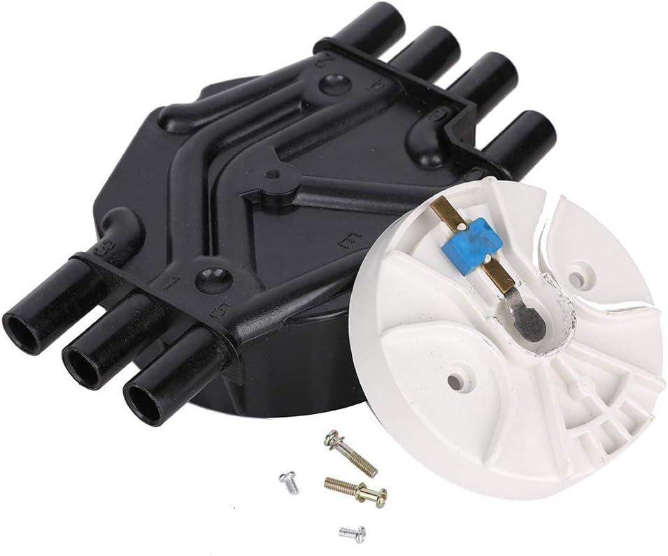 Distributor Cap and Rotor 10452457 10452458 Distributor Cap and Rotor for Chevrolet /& GMC Trucks V6 4.3L Vortec DR475 DR331 D465 D328A DR475T