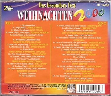 Weihnachten 2000-Das besondere Fest - James Warner, Bing Crosby, Jonny Hill, Ronny.. - Amazon.com Music