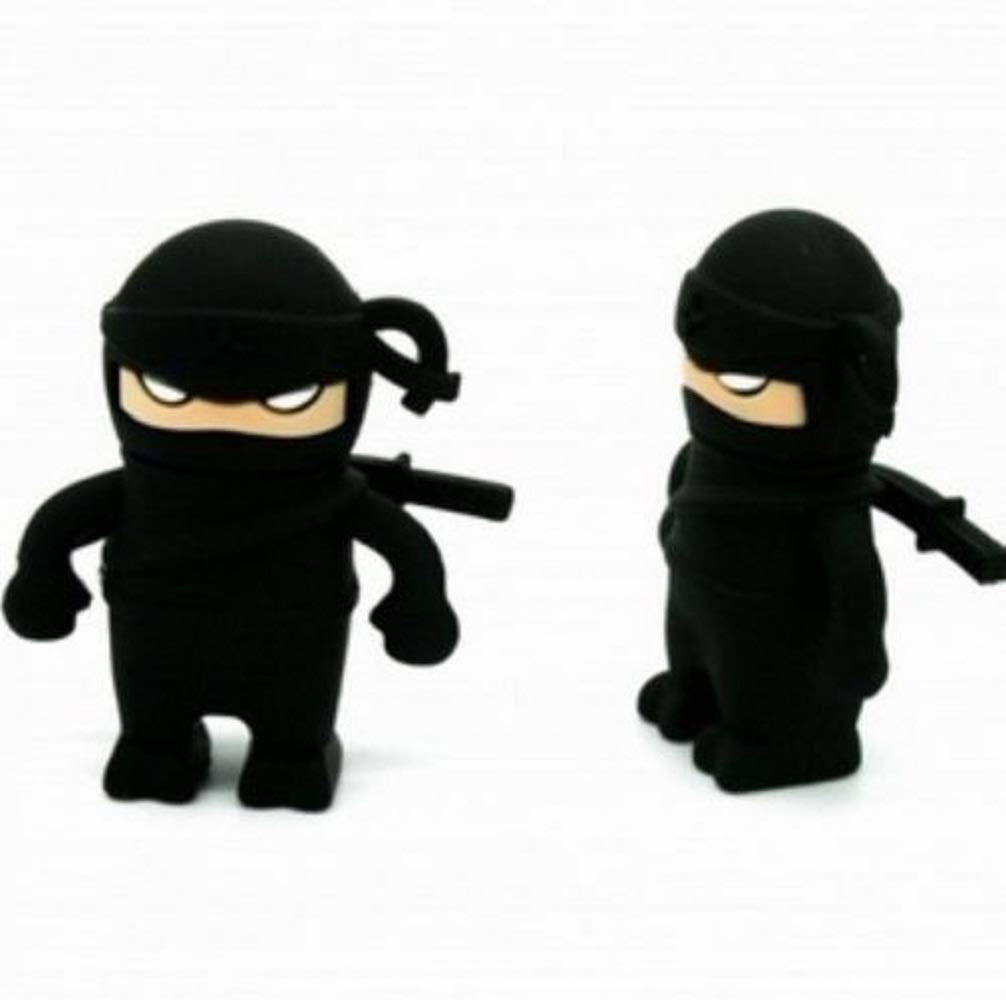 Amazon.com: 1 pc Cartoon Ninja USB 2.0 Memory Pen Drive 4G ...