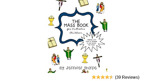 Receiving Holy Communion Catholic Mass Book for Children Colour Illustrations