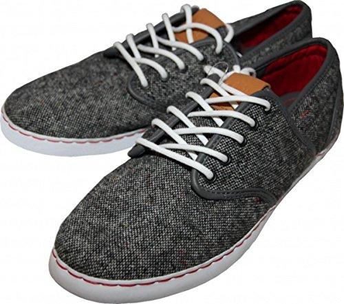Osiris Skate Shoes Charcoal Keden / Wool / Red, Schuhgrösse:42