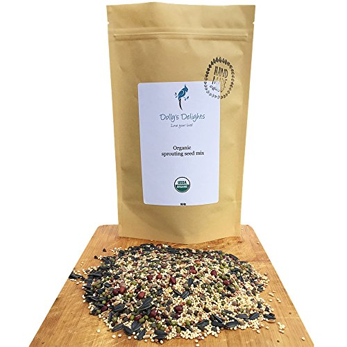Dolly's Delights Organic Sprouting Bird (Delight Seed)