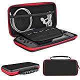 Cheap Carrying Case for Nintendo Switch DIWUER Starter Kit Built-in Game Card Holders Joy-con Game Console Accessories Protective Storage Bag