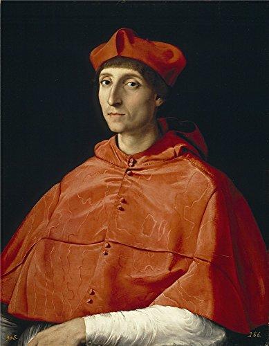 oil painting raphael cardinal ca