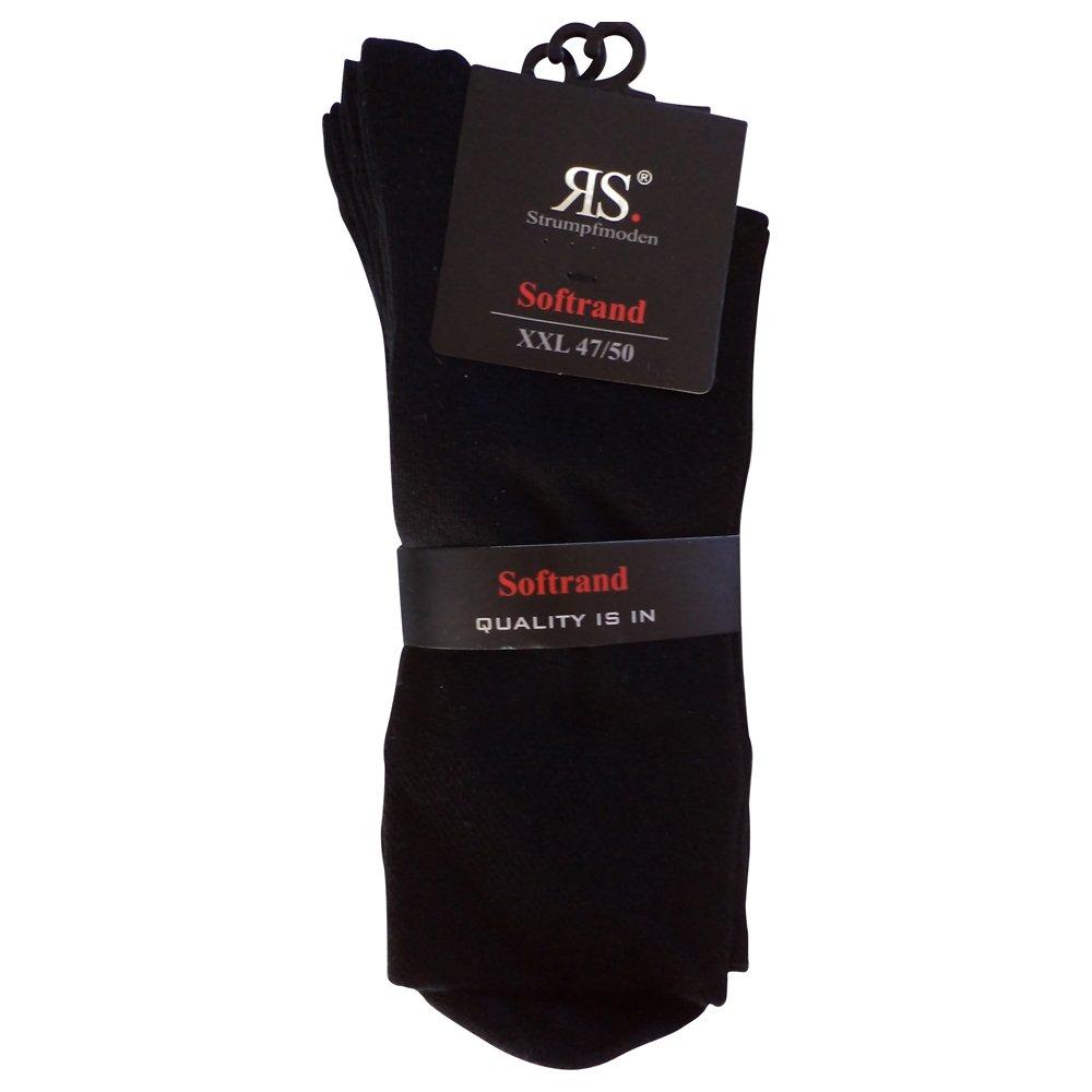 6 paia di calzini Pia RS Harmony calze da uomo senza cuciture soft bordo Bw