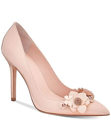 c63cb62d7e kate spade new york Evelyn Embellished Pointed Toe Pumps, Pale Pink, Size  9.5: Amazon.ca: Shoes & Handbags