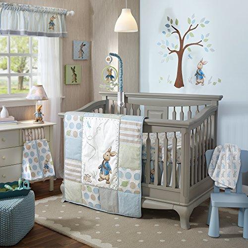 Lambs-Ivy-Peter-Rabbit-4-piece-Crib-Bumper