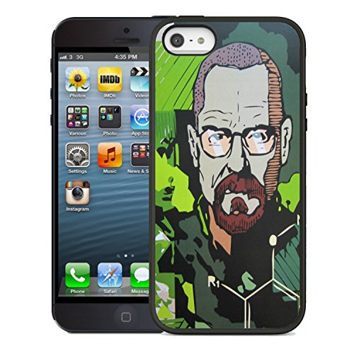 �?Breaking Bad Coque rigide pour iPhone 5/5s Motif Walter White Jesse �?�?�?�?�?Meth Heisenberg