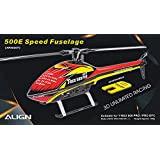 Align/T-Rex Helicopters 500E Speed Fuselage, Red/Yellow