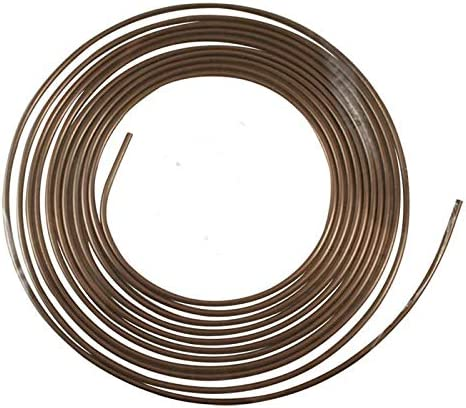25 Ft Roll Speedway 3//16 Inch Nickel//Copper AN3 Brake Line Kit