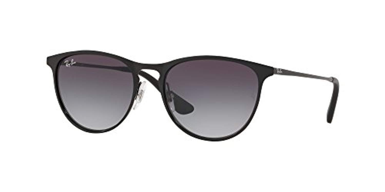 RB RJ9538S Junior Erika Metal Sunglasses Black/Grey Gradient 50mm & Carekit