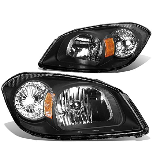 DNA MOTORING HL-OH-027-BK-AM Headlight Assembly, Driver and Passenger Side