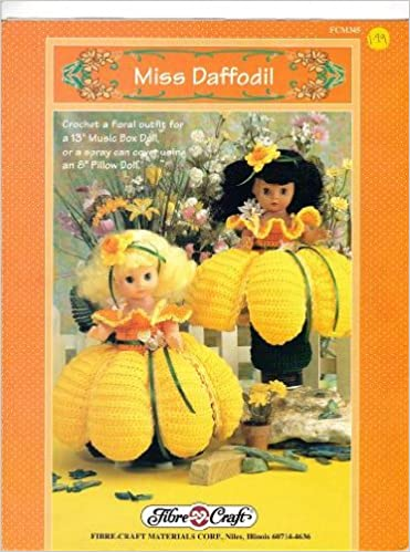 Miss Daffodil Complete Floral Outfit To Crochet For Fibre Craft 13