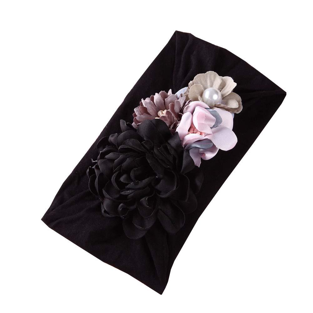 Infant Baby Girl Summer Lace Layered Ruffle Sleeve Romper Dress Bodysuit Clothes (1PCS(Black), Headband)