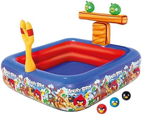 Piscina Hinchable Infantil de Juegos Bestway Angry Birds ...