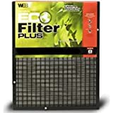 Plus Permanent Electrostatic Air Filter Size: 25 H x 25 W x 1 D
