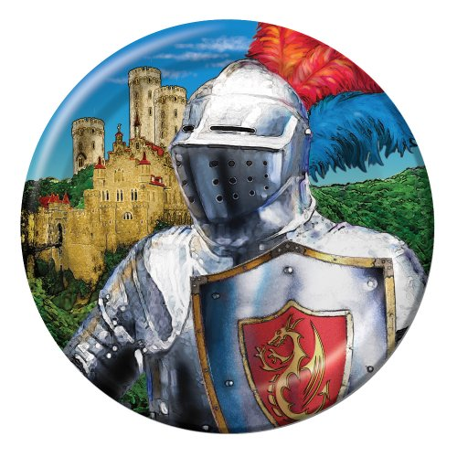 - Creative Converting Valiant Knight 8 Count Paper Lunch Plates