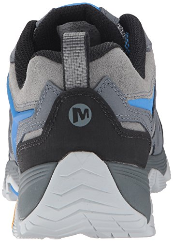 Merrell Mens Moab FST Waterproof Leather Breathable Mesh Walking Shoes Turbulence