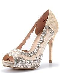 Women's Divine-01 High Heels Dress Pump Shoes