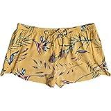Roxy Junior's Rum Cay Short, Buff Yellow Stormy Flowers, S
