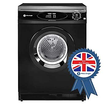 White Knight C44A7B 7kg Freestanding Vented Tumble Dryer