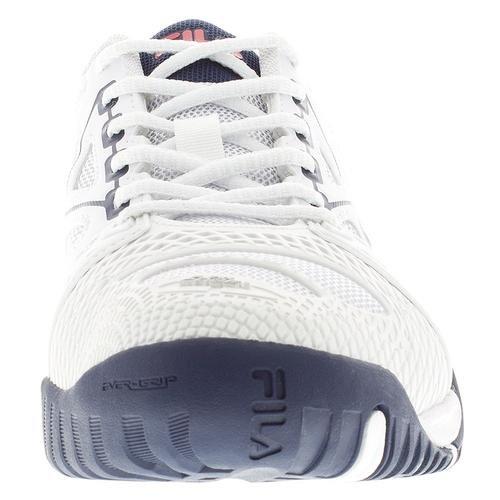 Fila Herenkooi Delirium Mesh Atletische Sneakers Wit, Fila Navy, Fila Rood