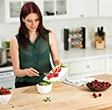 Plastic Cutting Boards Set of 3, Dishwasher Safe Reversible Cutting Boards with Non-Slip Feet & Deep Drip Juice Groove for Chopping Foods, BPA Free, FDA Approved Materials & Eco Friendly By Blümwares