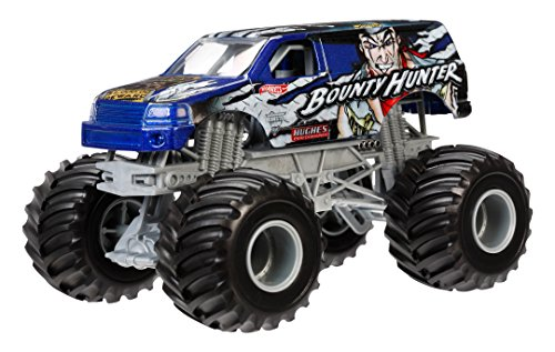 Hot Wheels Monster Jam Bounty Hunter Die-Cast Vehicle, 1:24