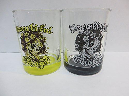 Ed Hardy Beautiful Ghost Glass Set