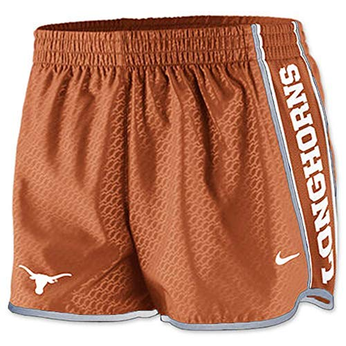 Nike Women's Dri-Fit Texas Longhorn Shorts (X-Large) Orange