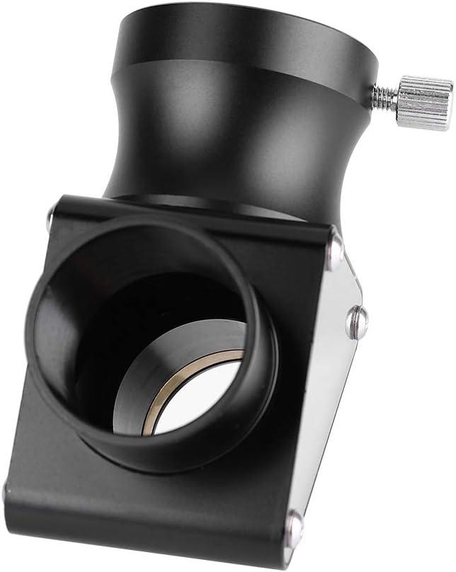 Oumij Espejo Diagonal 1.25inch 90-Deg Dielectric Mirror Diagonal para Telescopio Erecto Imagen Prisma