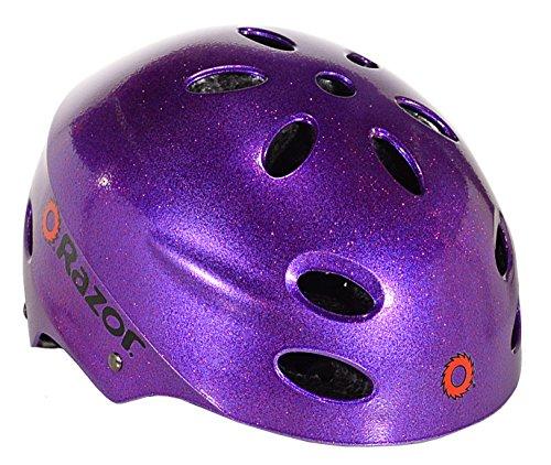0f3dab1611a Razor V17 Youth - Purple Glitter by Razor (Image #1)