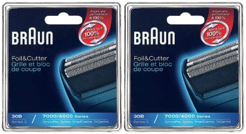 Braun Hoja De Repuesto 7000/4000 30B Y Cortador Combo Pack: Amazon ...