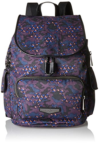 KiplingCity Pack S - Mochila Mujer Varios colores (Soft Camo)