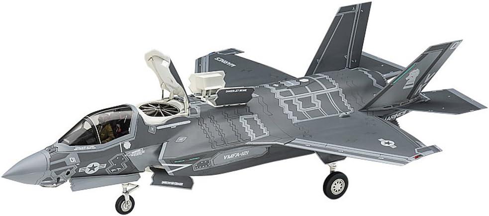 Hasegawa HAE46 F-35 Lightning II B Version US Marine Model Kit, 1:72 Scale