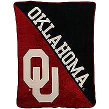 "NCAA Collegiate ""Half Tone"" Super Soft Plush Throw Blanket"