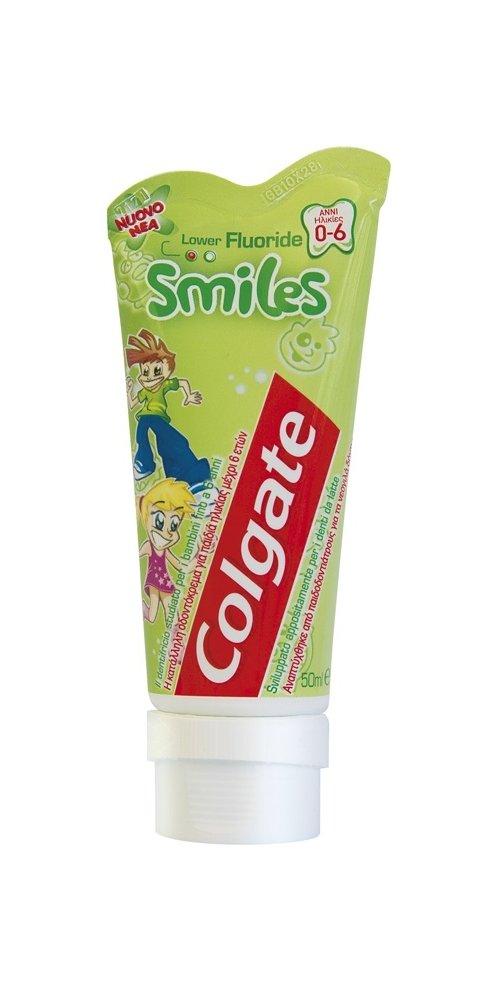 Dentifrice smile junior pour bébé protezione carie 50 ml COLGATE