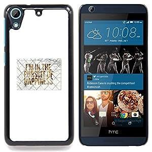 "Planetar ( Splash Negro Arte Aleatorio"" ) HTC Desire 626 Fundas Cover Cubre Hard Case Cover"