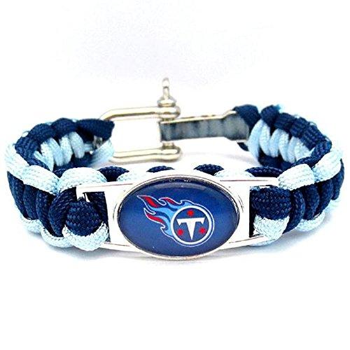 Tennessee Titans Paracord Bracelet (Tennessee Bracelets Titans)