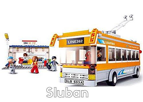 Sluban Town - Trolley Bus - 1