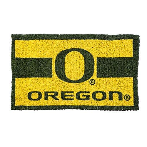 Team Sports America 0007L627B 18''X30'' Welcome Mat Bleached-U of Oregon, Multi-Colored
