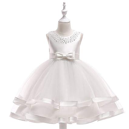 57f1f94ccb2da Baby Girls Frock Dress Girls Sleeveless Formal Dress Princess ...