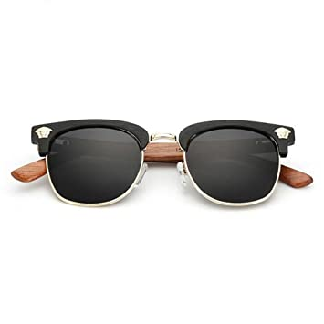 Z&YQ Gafas de sol RawWood Originals Polarized Wooden Bamboo ...