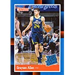 2018-19 Panini Instant #RR19 Grayson Allen Rated Rookie Basketball Card - 1988.