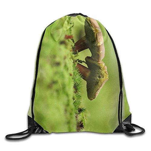 Smurf Mushroom (Smurf Mushroom Soup Unisex Outdoor Gym Sack Bag Sport Drawstring Backpack Bag)