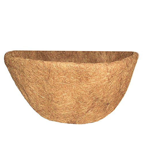 Grower Select R587 Coco Liner for 16-inch Wall Basket Planters ()